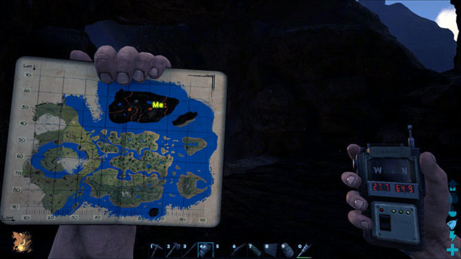 Ark The Island Cave Map